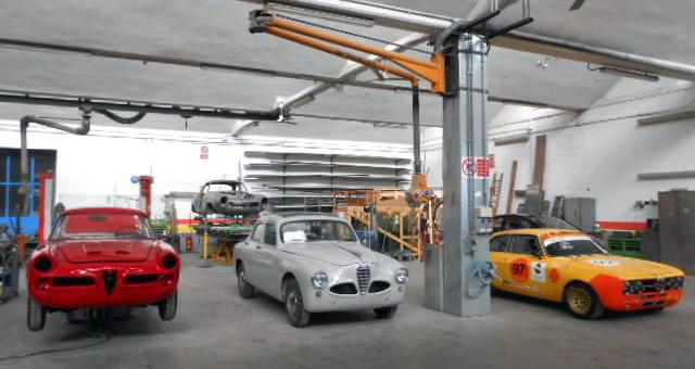 restauro auto d'epoca a Vigevano